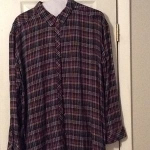Beautifulful Caslon flannel shirt